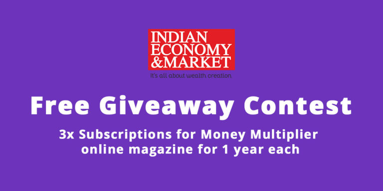 3x Money Multiplier Online Magazine 1-year Subscription Giveaway