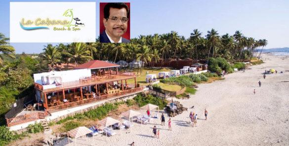 With a Panoramic Sea View - La Cabana Beach & Spa Resort Goa