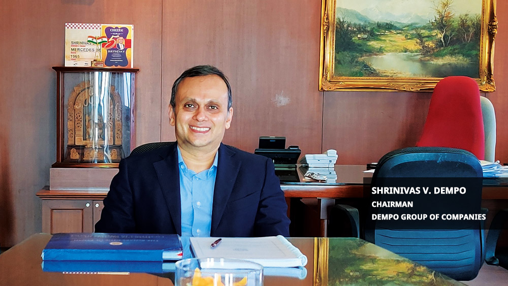 """""""Doing Business with Human Face"""" - Shrinivas V. Dempo, Chairman of the Dempo Group of Companies"""