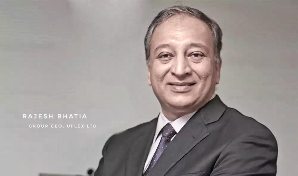 Rajesh Bhatia, Group CFO, UFlex Ltd