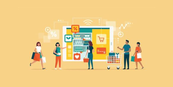 Transition to Online Marketplaces and Malls