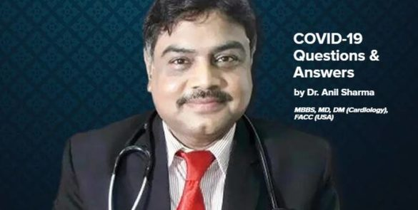 Dr. Anil Sharma Answering All Your COVID-19 Questions #MustRead