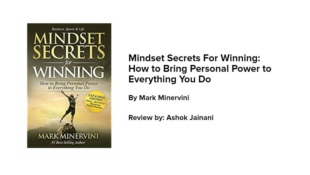 Mindset Secrets For Winning: How to Bring Personal Power to Everything You Do #BookClub
