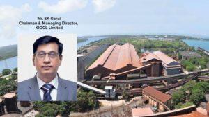 Mr SK Gorai CMD KIOCL Limited Mining India