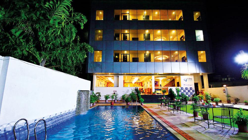 V ONE HOTELS - A Marathon Runner in Hospitality Sector 1